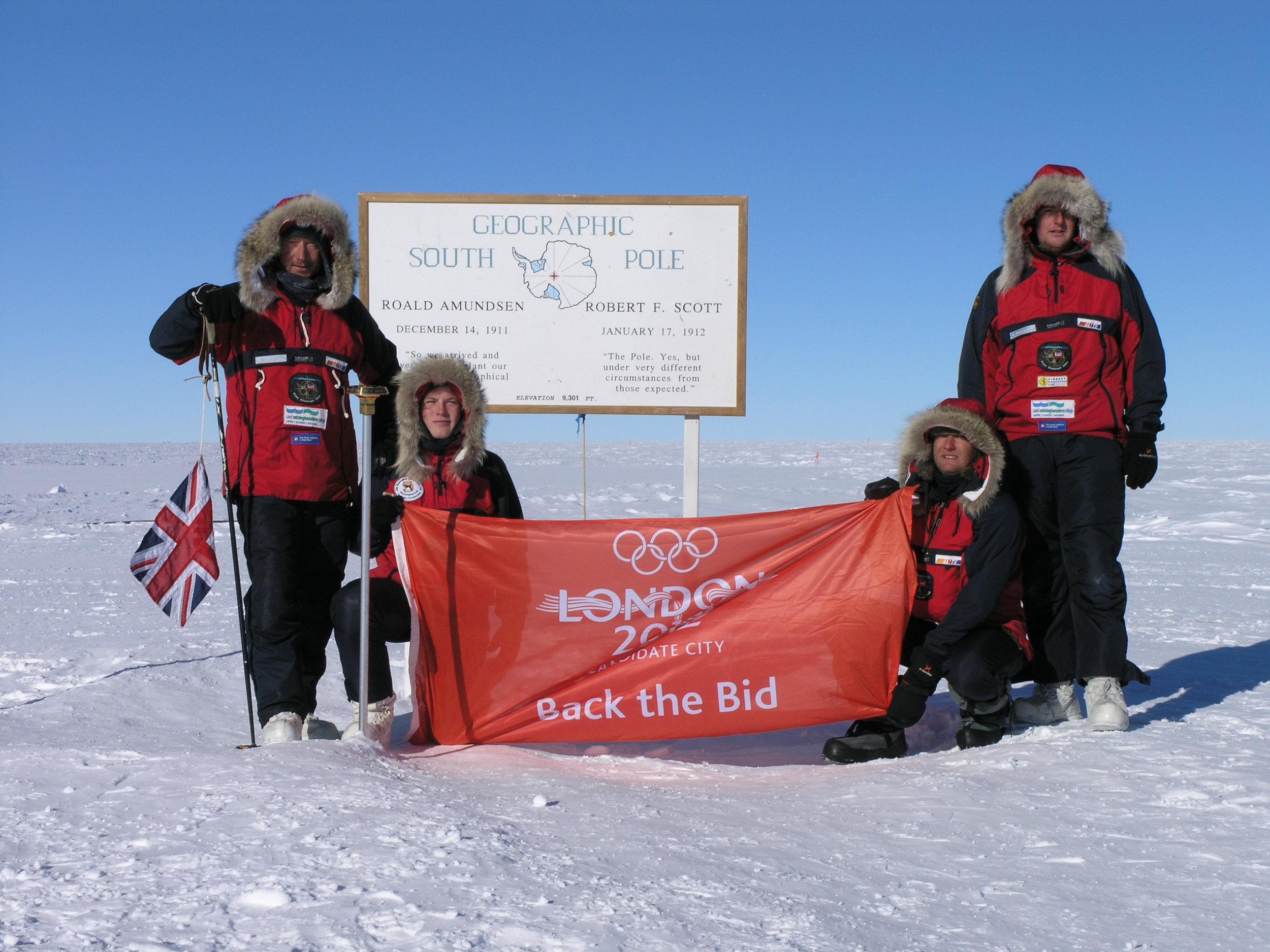 Polar challenge 2004 -