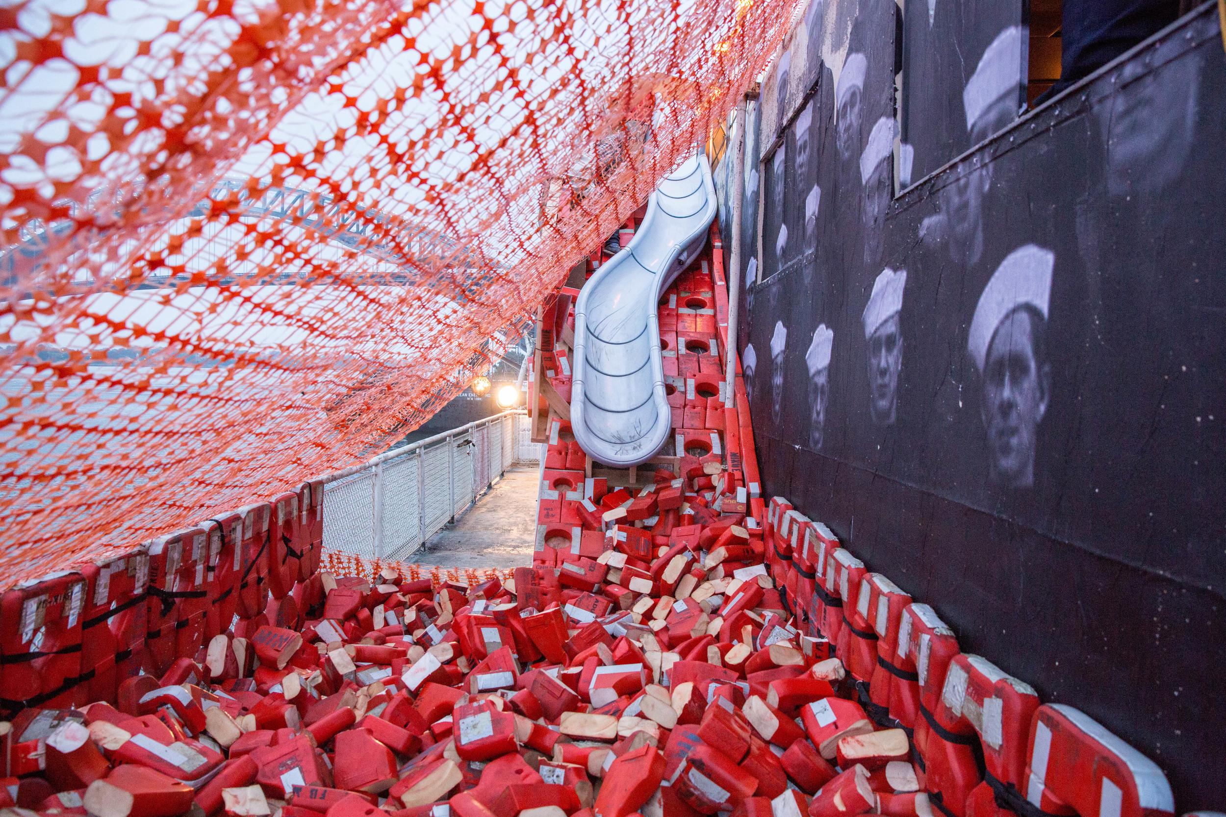 installation by jon morris :: photo by tod seelie