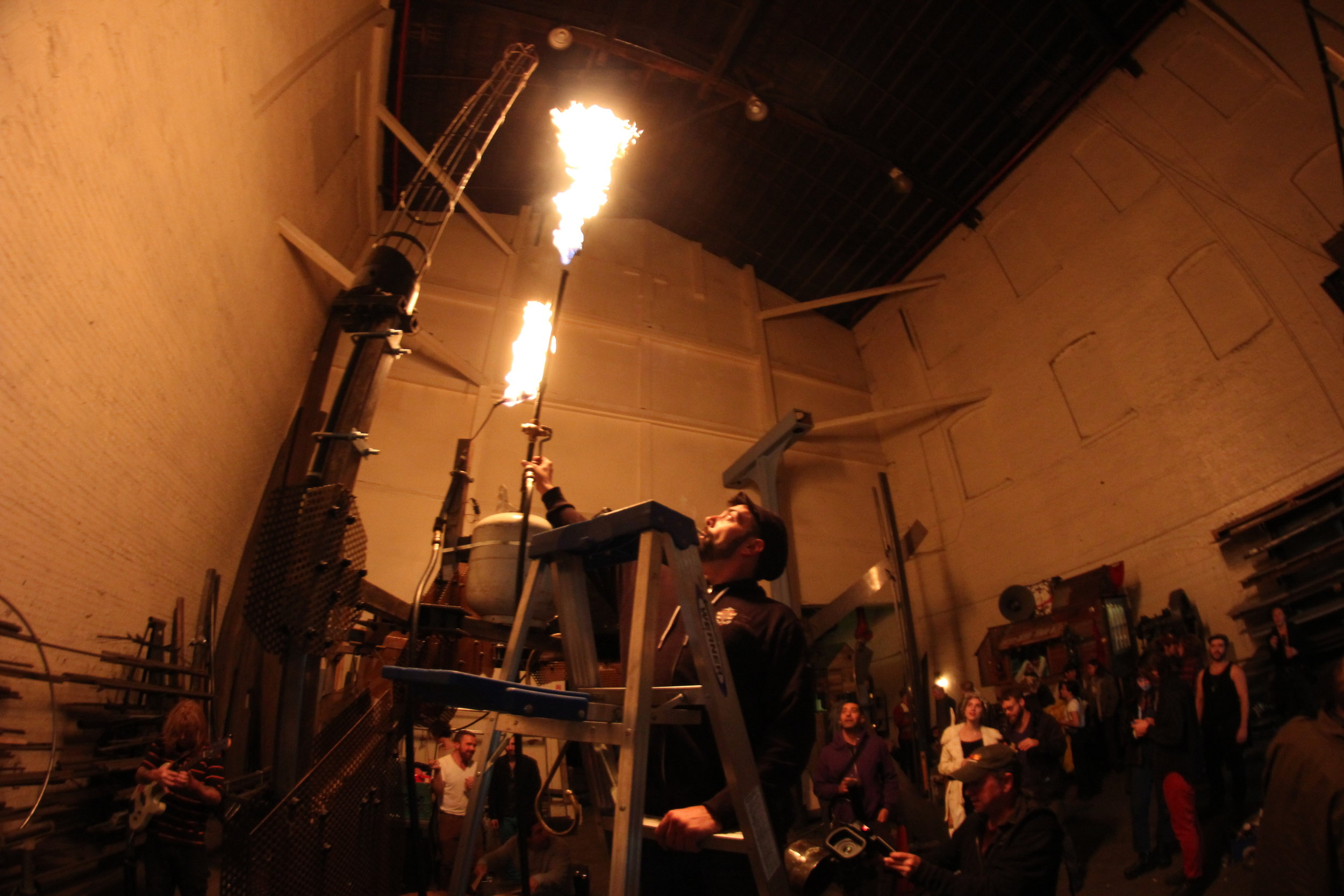 fire//cacophony machine by dan glass