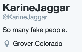 Are you referring to your followers, spambot Karine?