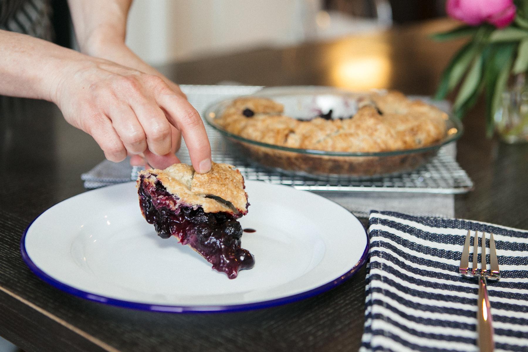 Rustic Blueberry Tart