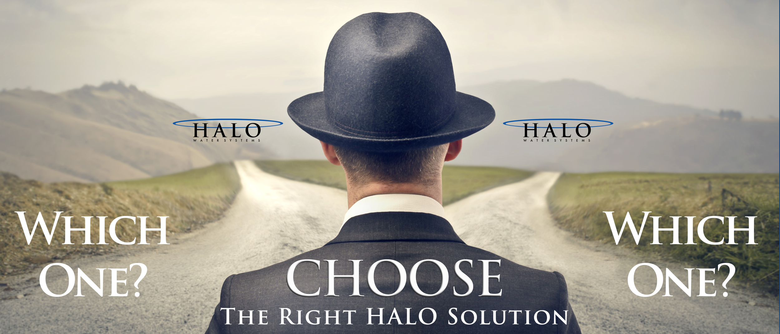 Click above to Choose the Right HALO Solution  What should we do?