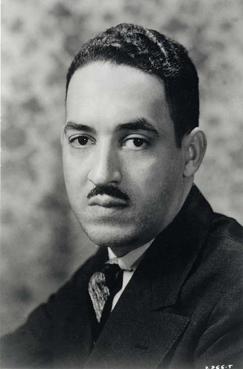 Thurgood Marshall at age 28.