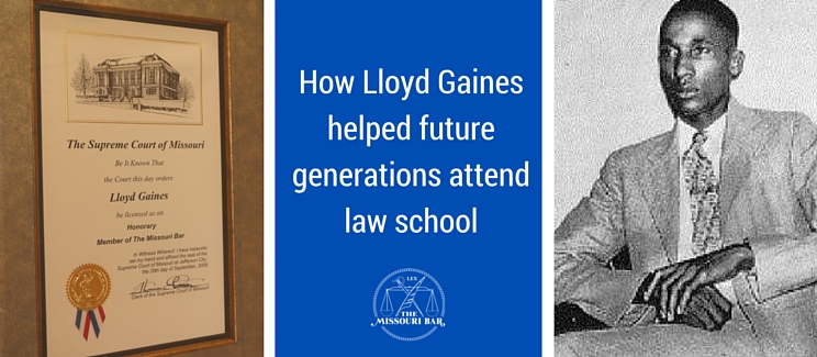 While Gaines was essential to the legal strategy to defeat segregation ,  his life ended in obscurity when he vanished in 1939  in Chicago, IL at the age of 28 never to be seen or heard from again. The University of Missouri School of Law has  an outstanding digital collection of resources that sheds light on the economic difficulties that Gaines and his family faced in working to provide him with an advanced education .