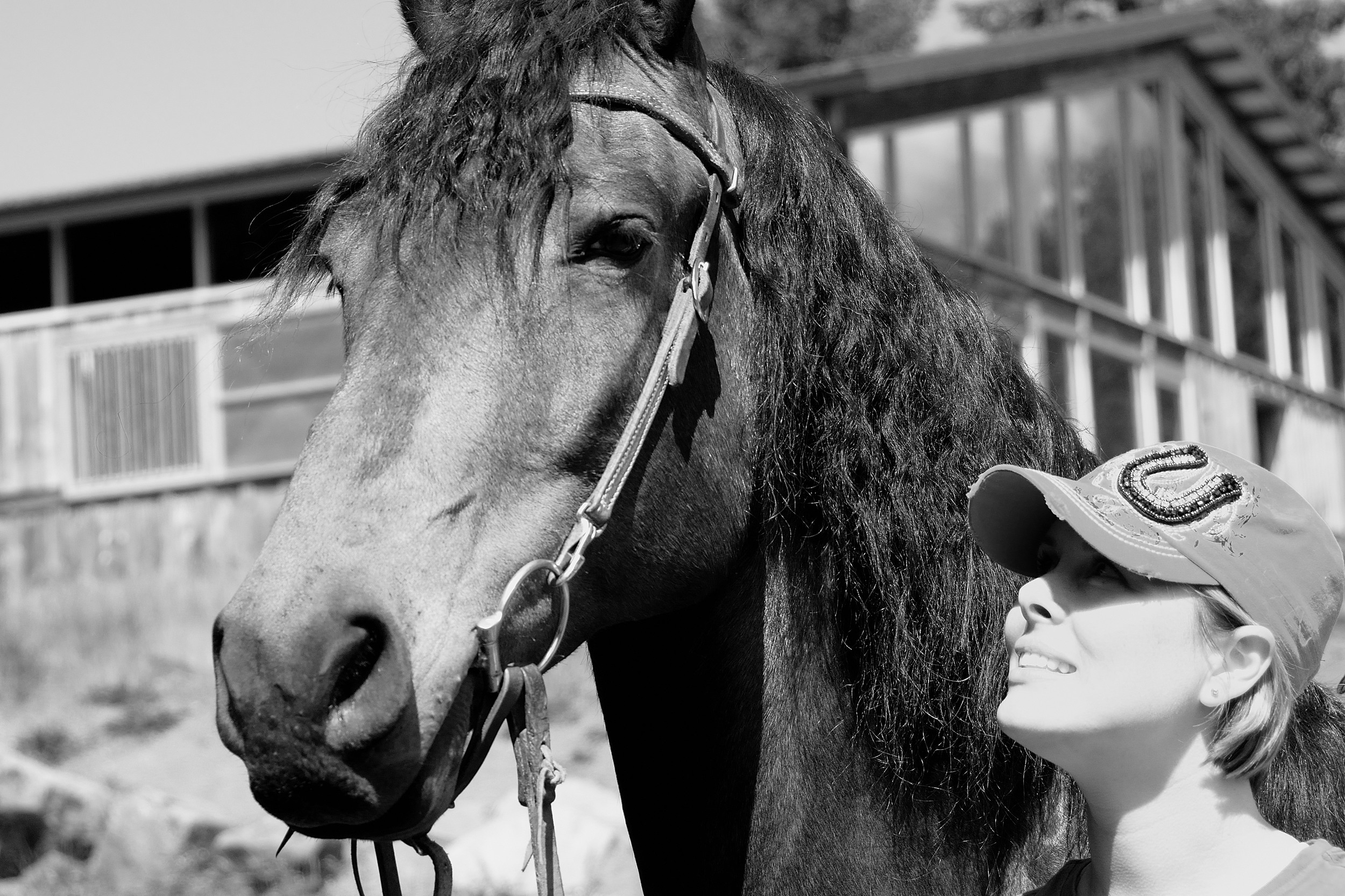 Me & my big moose, Cheli! :)  Photograph (above) taken by Dena Kent Photography ~ www.denakentphotography.com