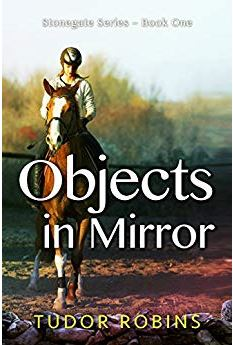 "(1) Paperback of Objects in Mirror by Tudor Robins! - Starving, starving … Grace is always starving these days. But Grace is also strong, and determined, and skinny. For the first time ever Grace is as thin as she wants to be – nearly – and there's no way she's giving that up.Except, what if she has to give up other things to be able to keep wearing her new ""skinny"" breeches? What if it comes down to a choice between all the horses she loves – Sprite, the ferocious jumper, and Iowa, the sweet greenie, and Whinny, the abused but tough mare – and the numbers on the scale, the numbers on food labels, the numbers always running through her head?…(click here for full description)"