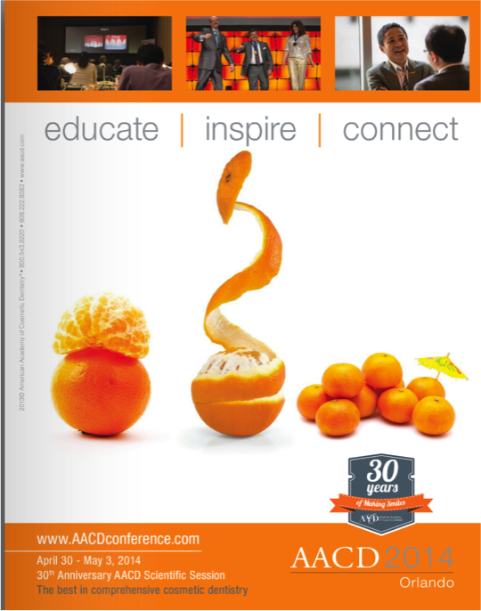 Each kiosk sponsor will be recognized in AACD's digital and hard-copy meeting publications.