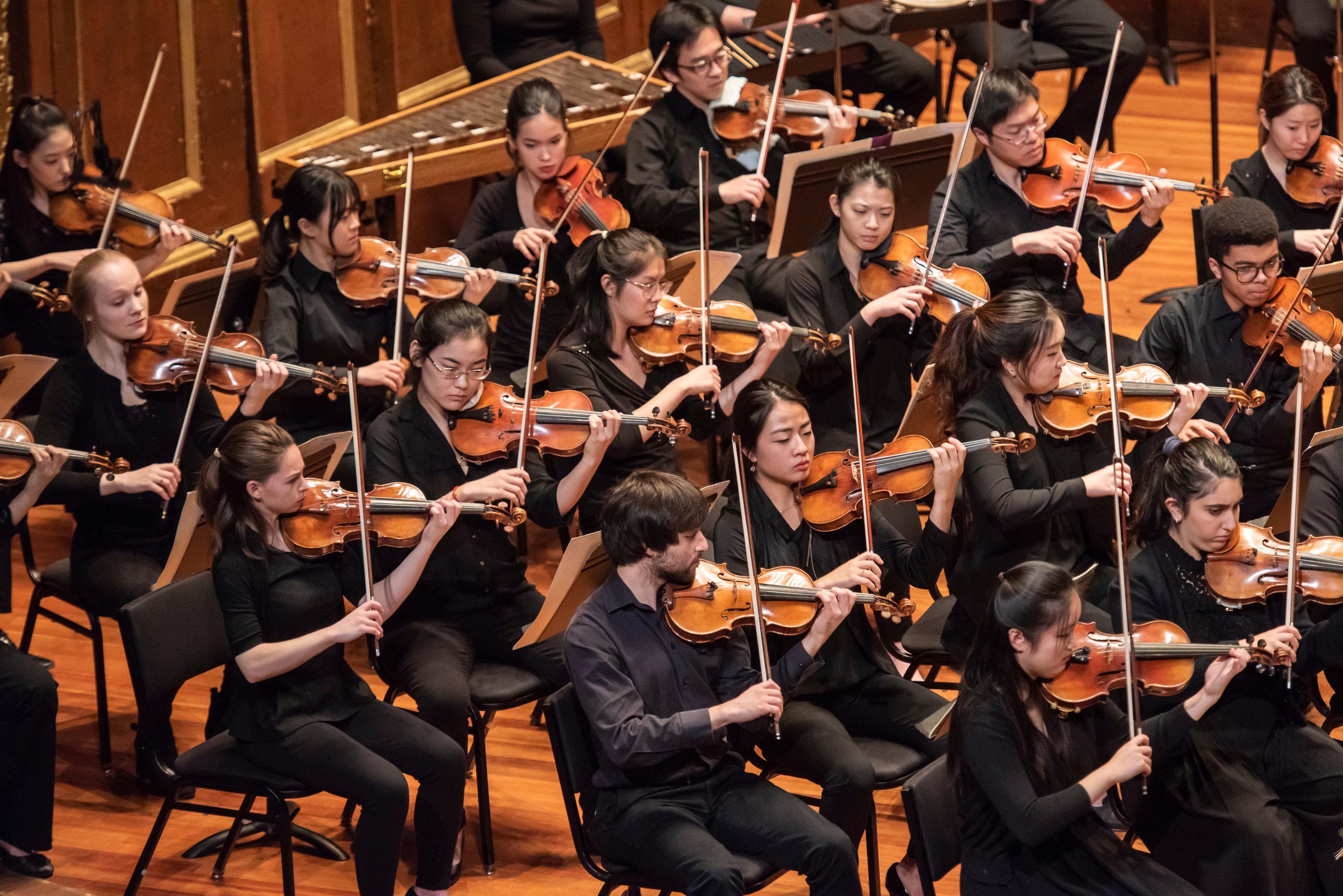 New England Conservatory Philharmonia | Photo Credit: Andrew Hurlbut