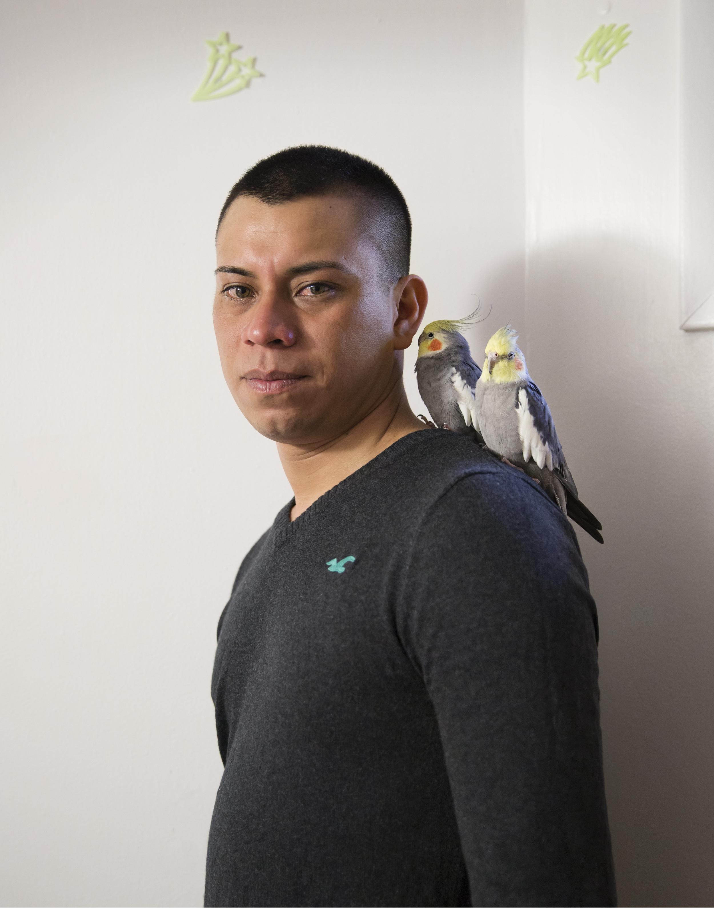 Will, 30. Bricklayer. 5 year survivor of HIV.