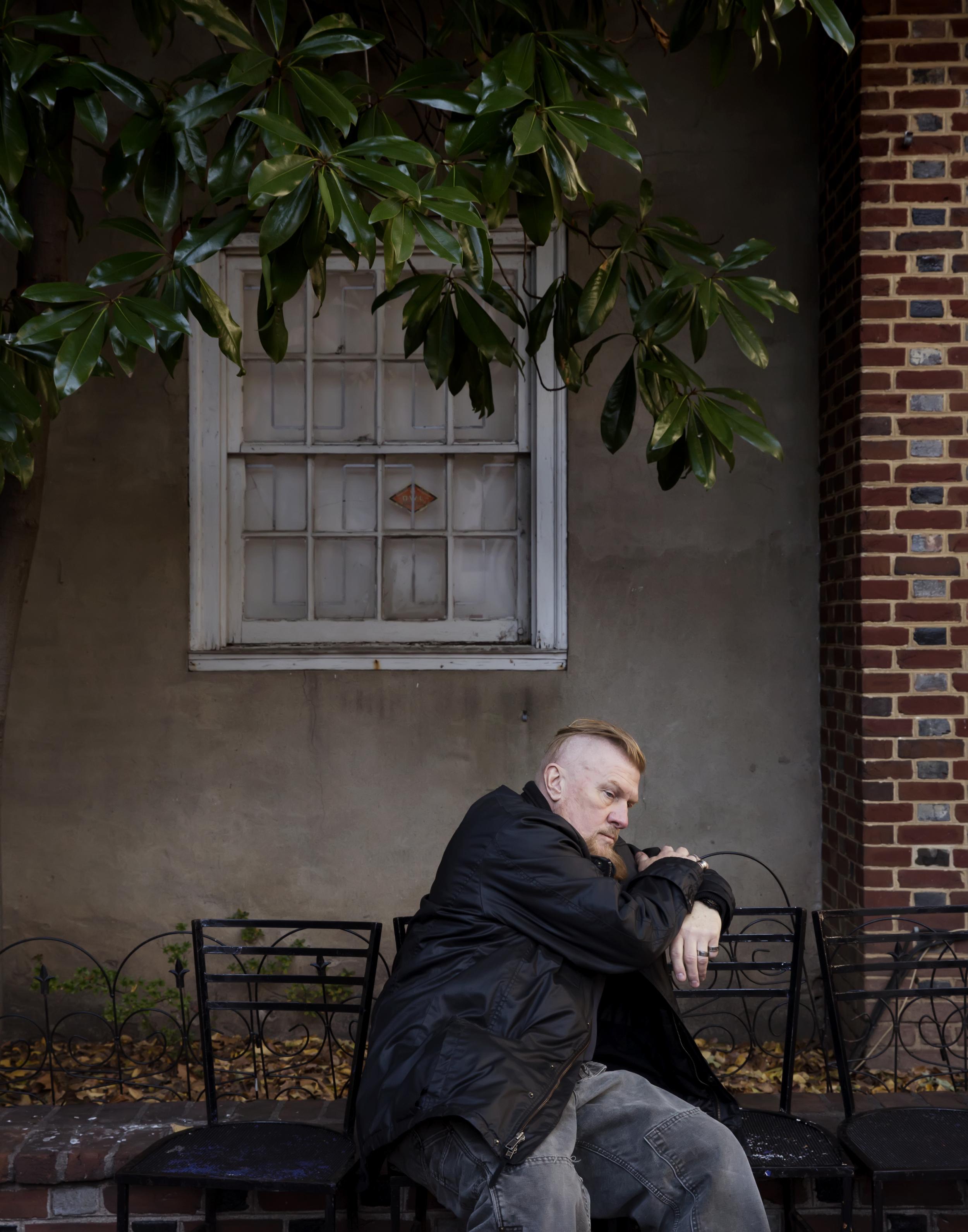 Jimmy, 65. Retired Web Designer and Dog Walker. 14 year survivor of HIV.