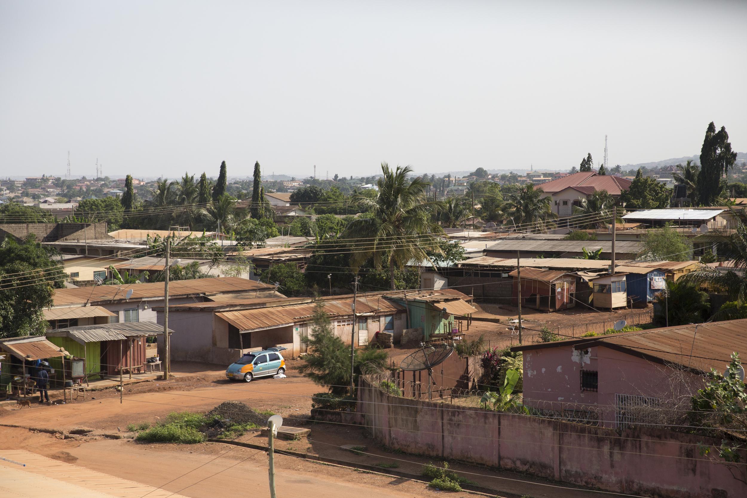The neighborhood of Israel -Alhaji, Accra.