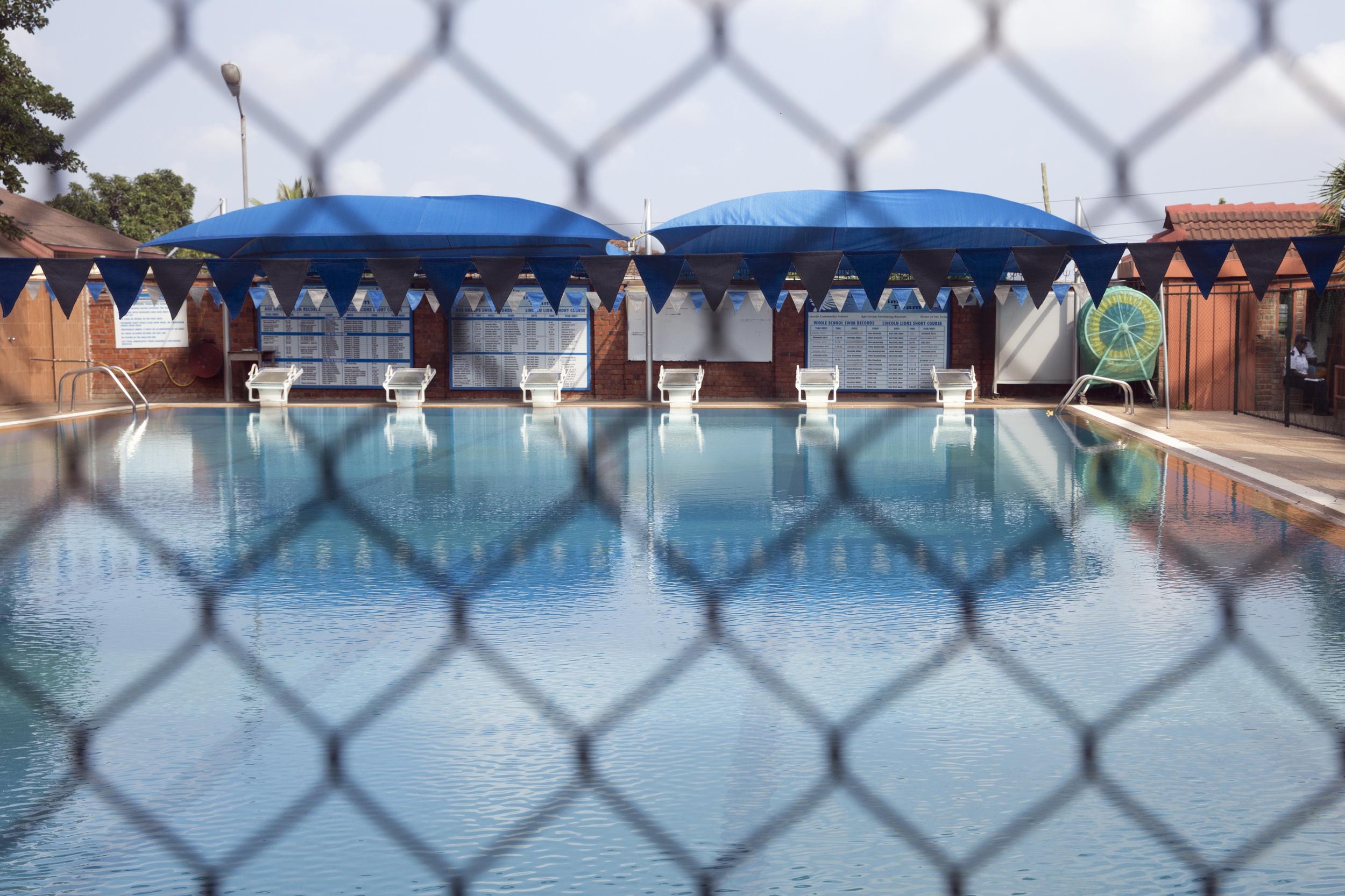 The  beautiful  pool...