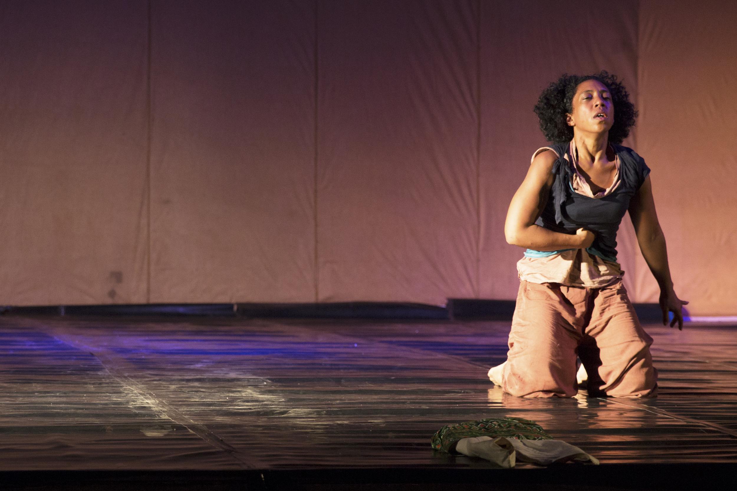 "Liliona performs ""Resonances of a Warrior Boy."""