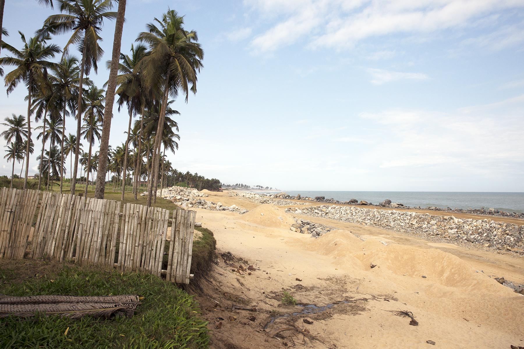 The inn's view of the beach