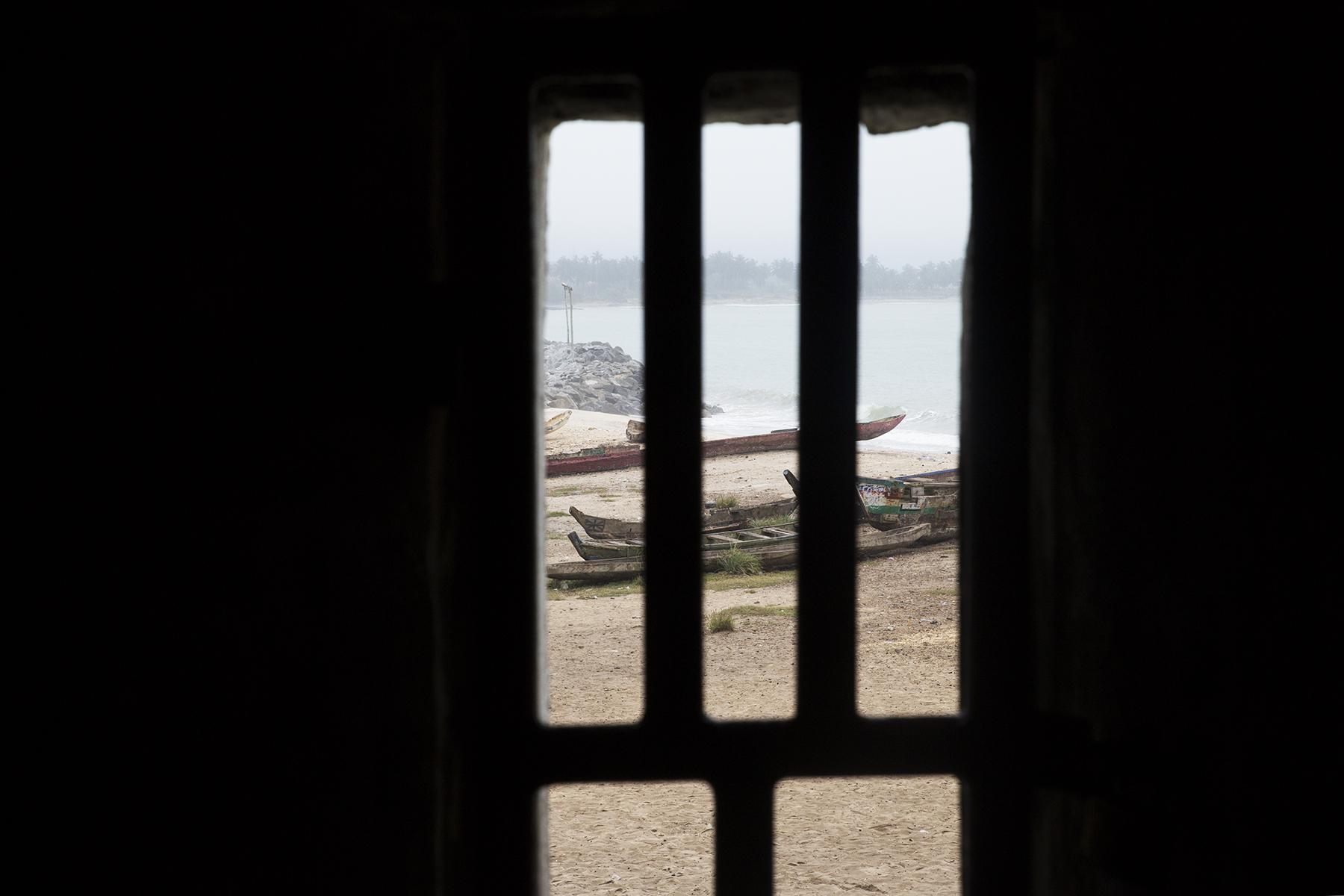 The door of no return...