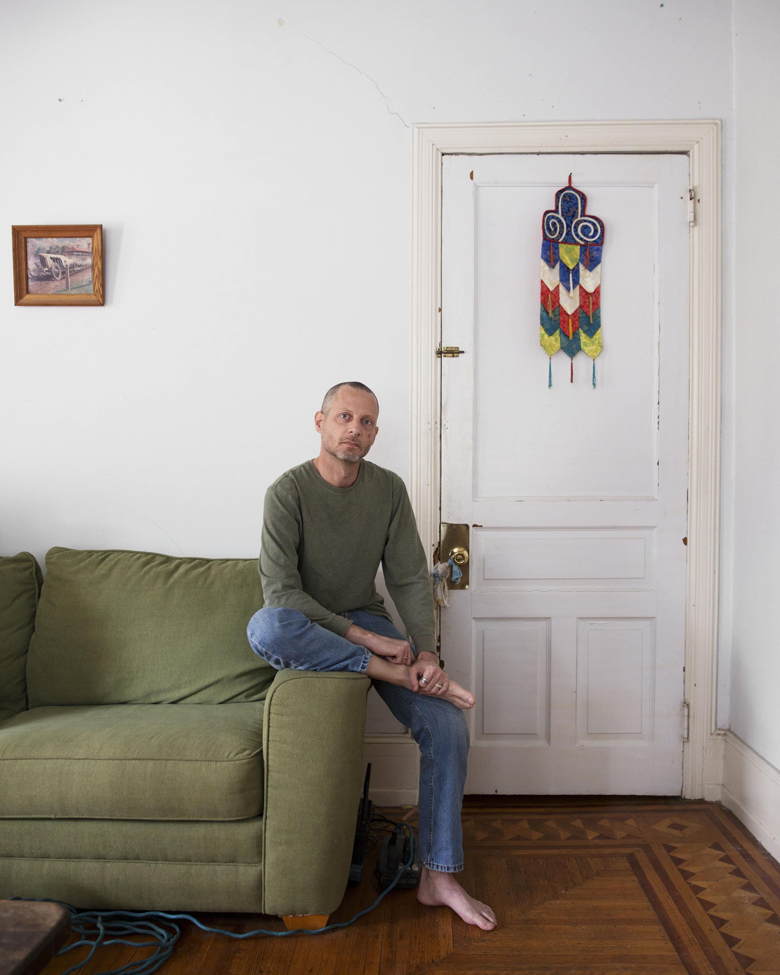 Rico, 51. Social worker. 28 year survivor of HIV.
