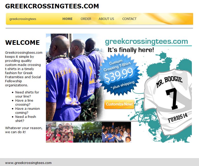 Greek Crossing Tees