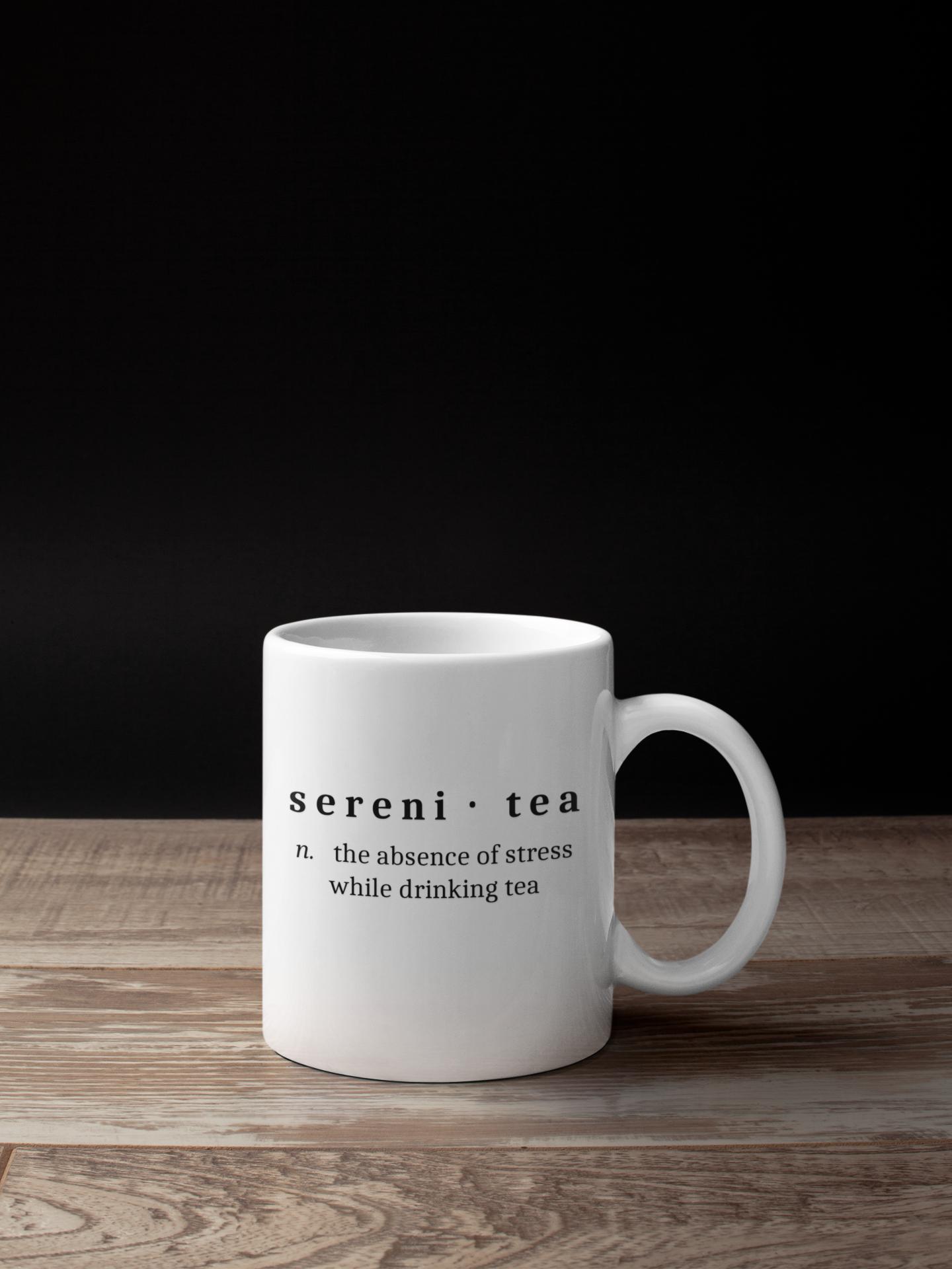 Serenitea Definition Mug Art By Amw