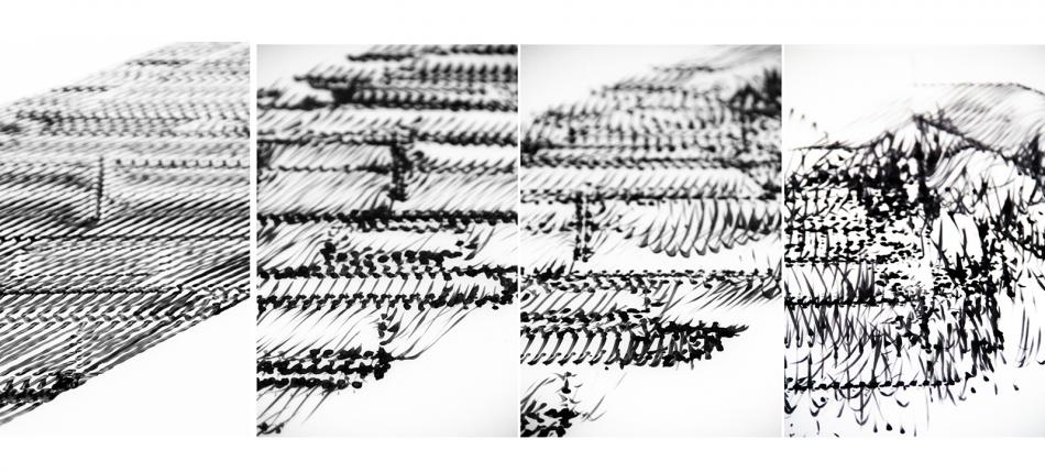 Erin Besler - Low Fidelity, drawings in marker. SCI-Arc, 2012