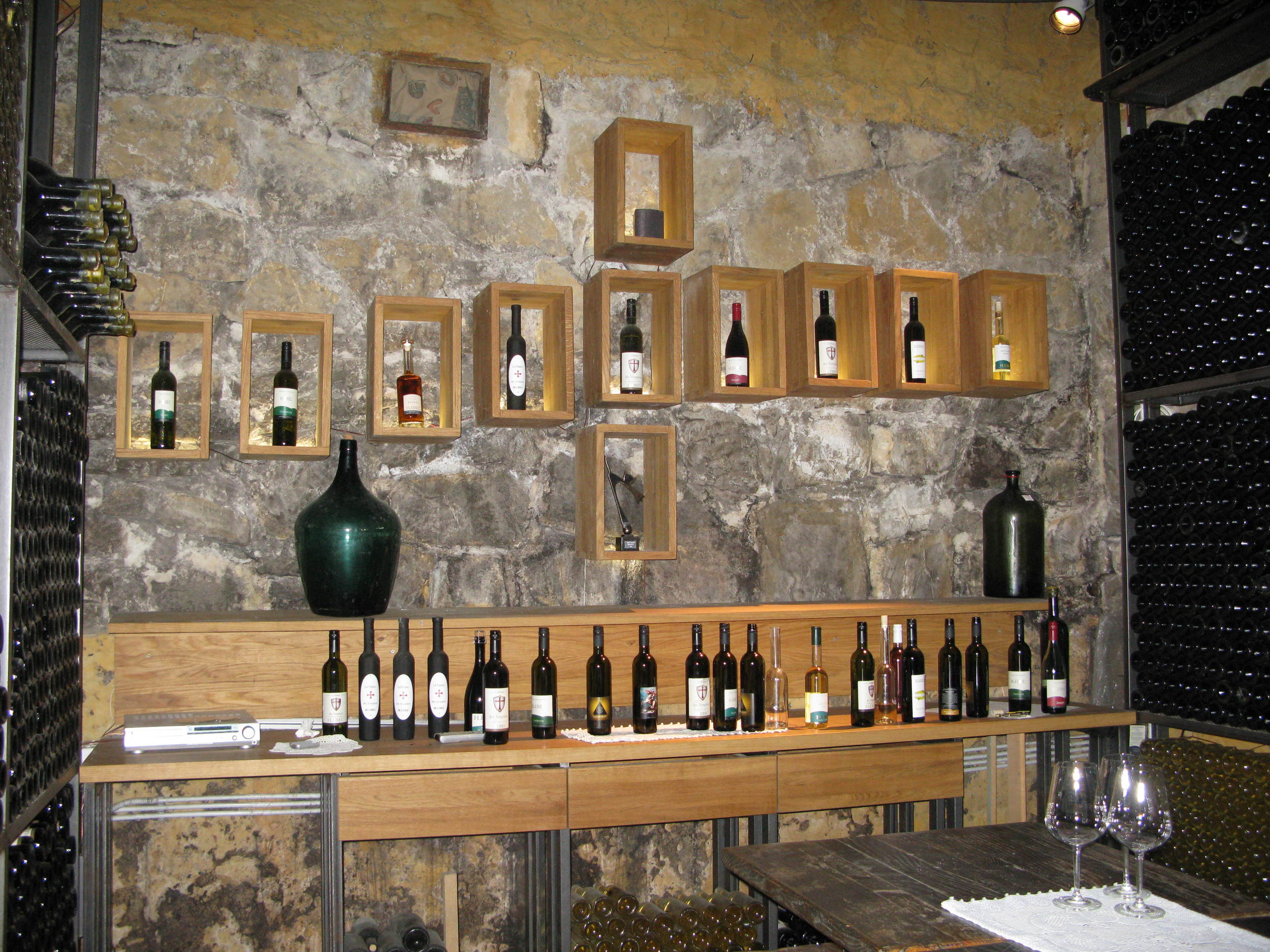 A selection of wine that's worth worshipping