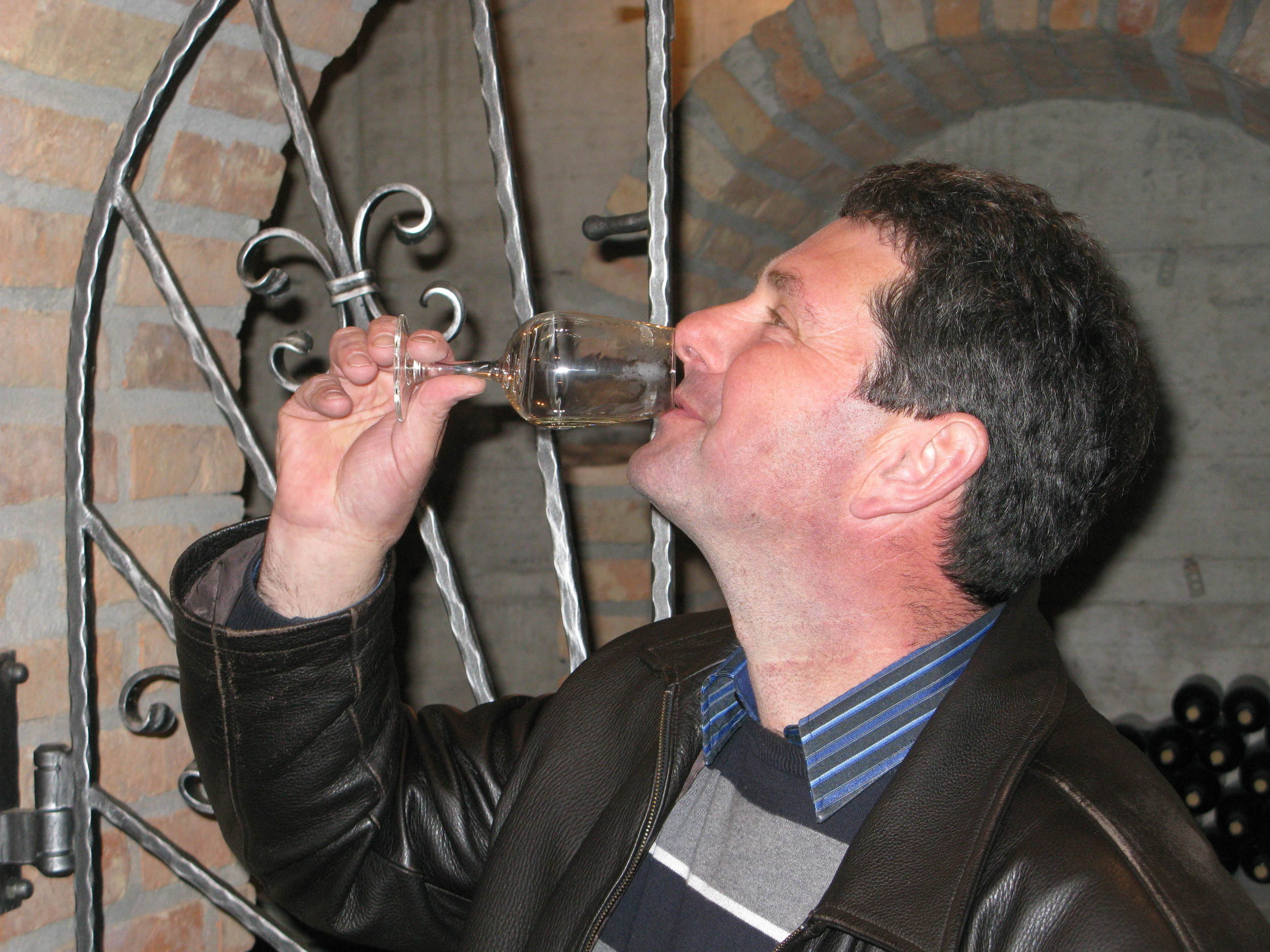 Slovenian winemaker