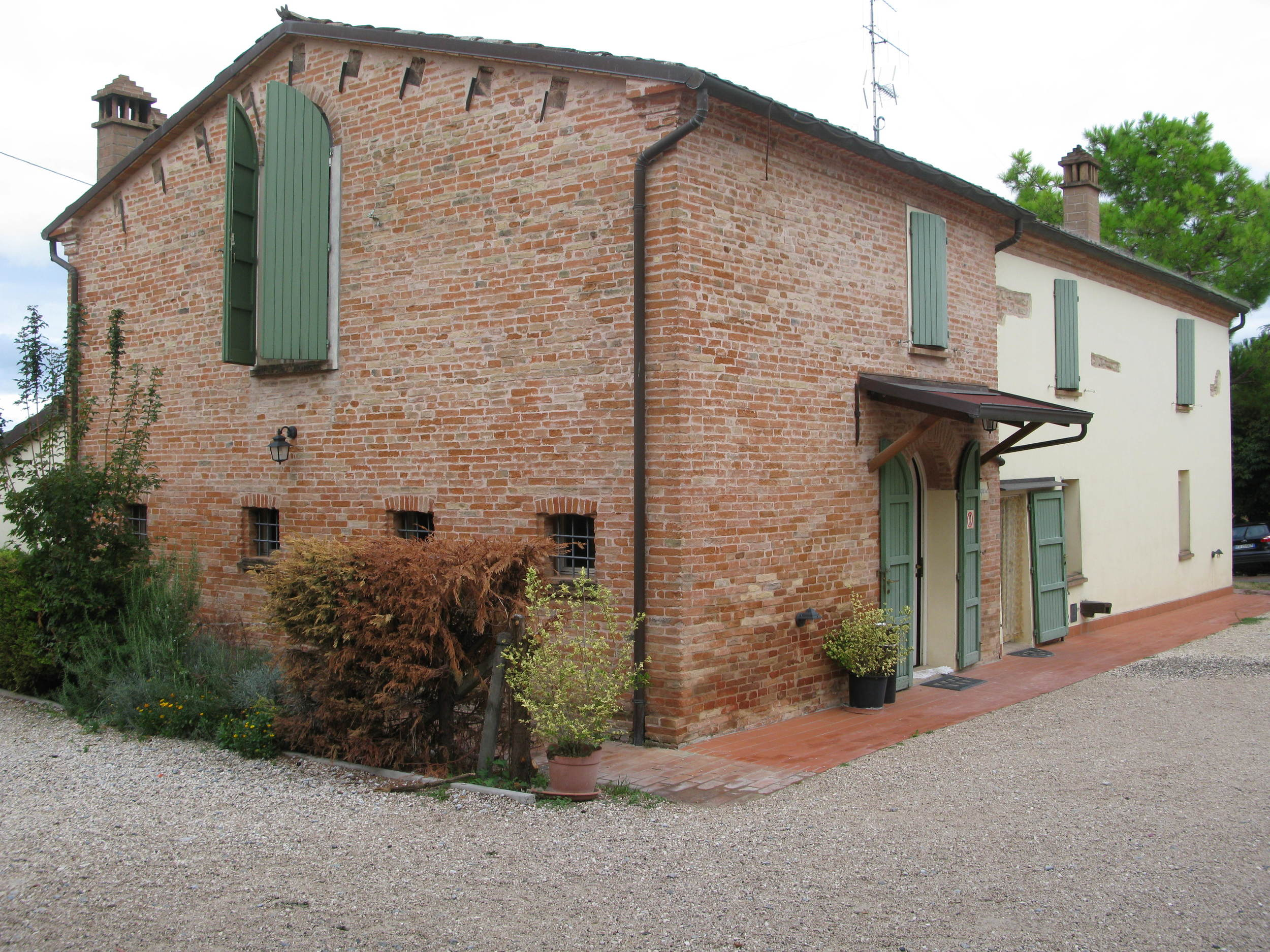 The farmhouse at La Sabbiona