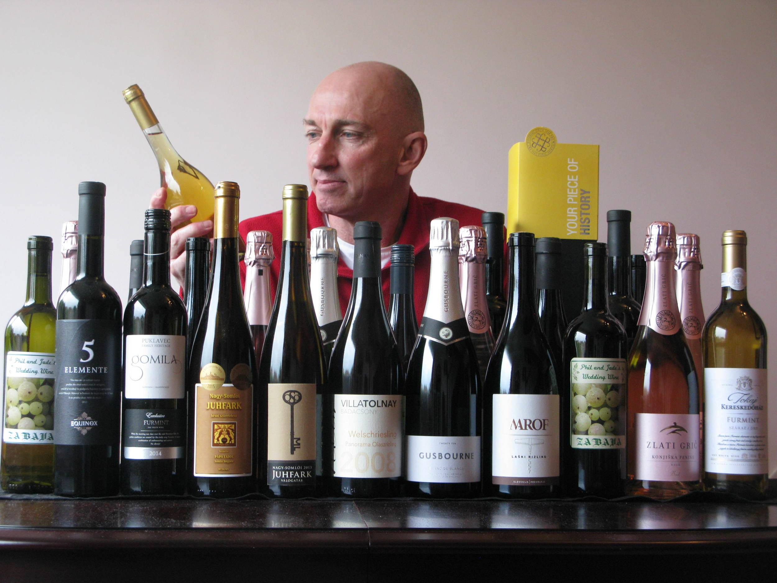 Chris examines the interesting line-up of wines