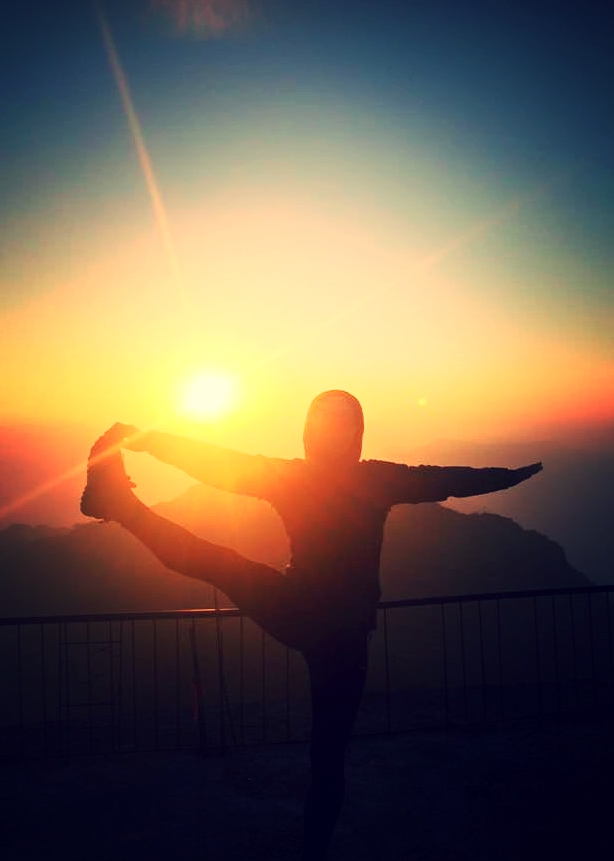 Fancy doing some yoga at a vineyard with views of the Alps?