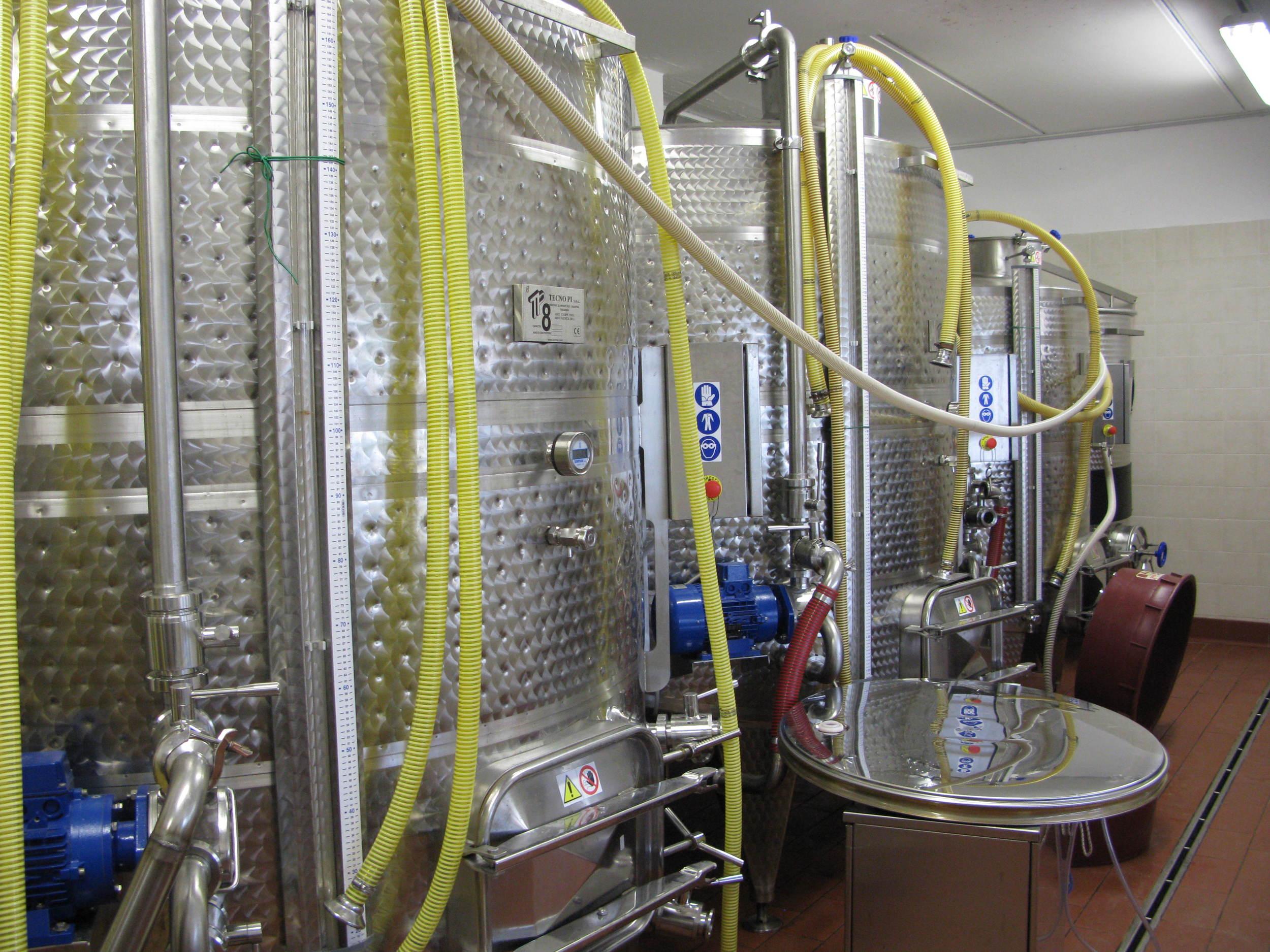 Fiorino Fiorentini's winery
