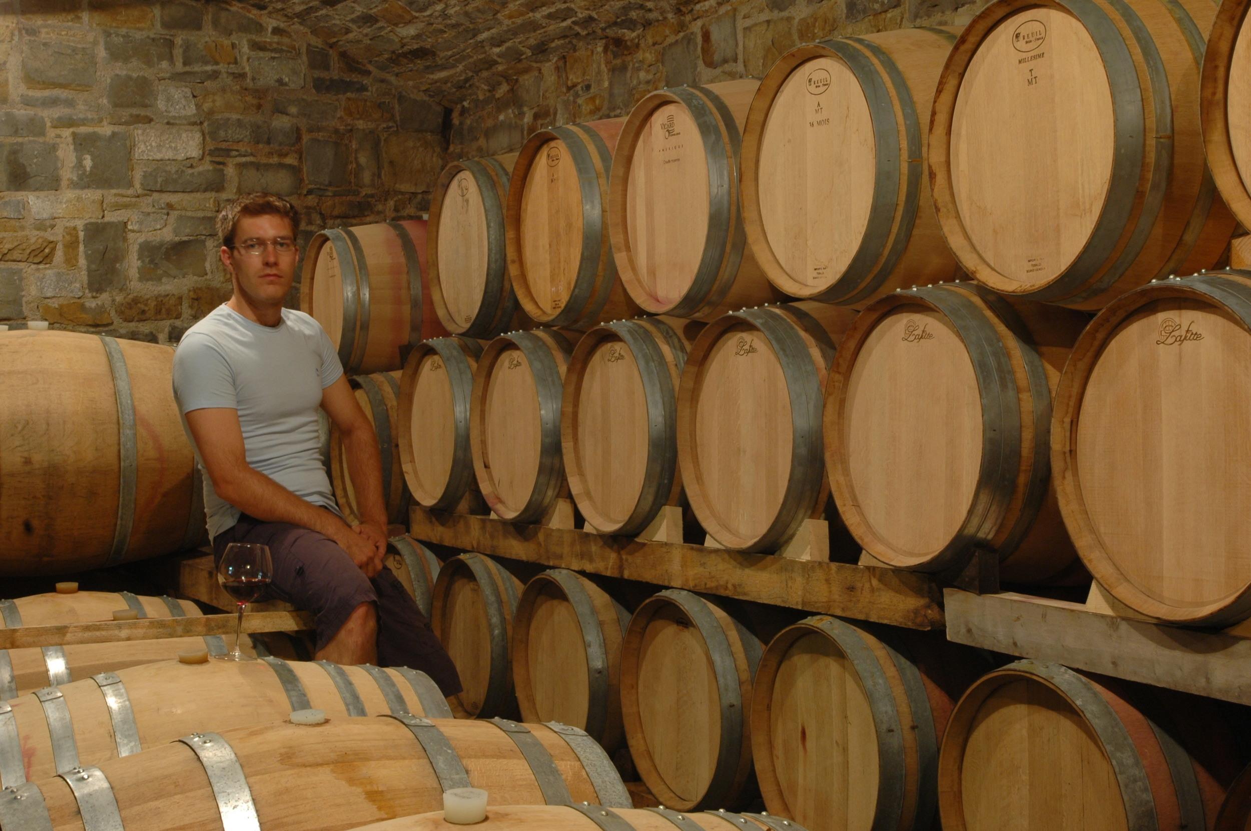 Matjaž Četrtič from Slovenian winery Ferdinand
