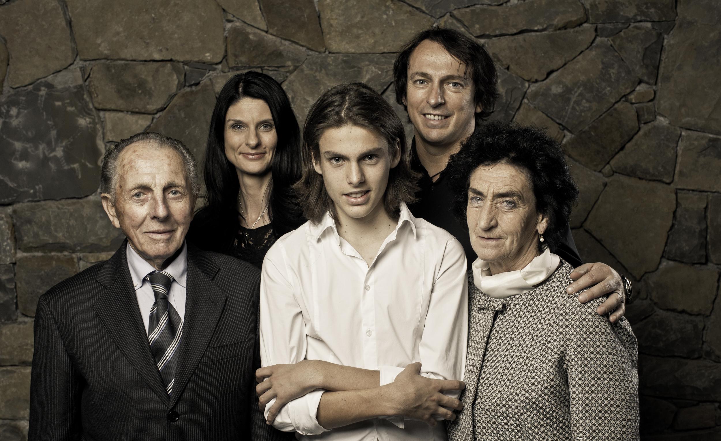 The Simčič family