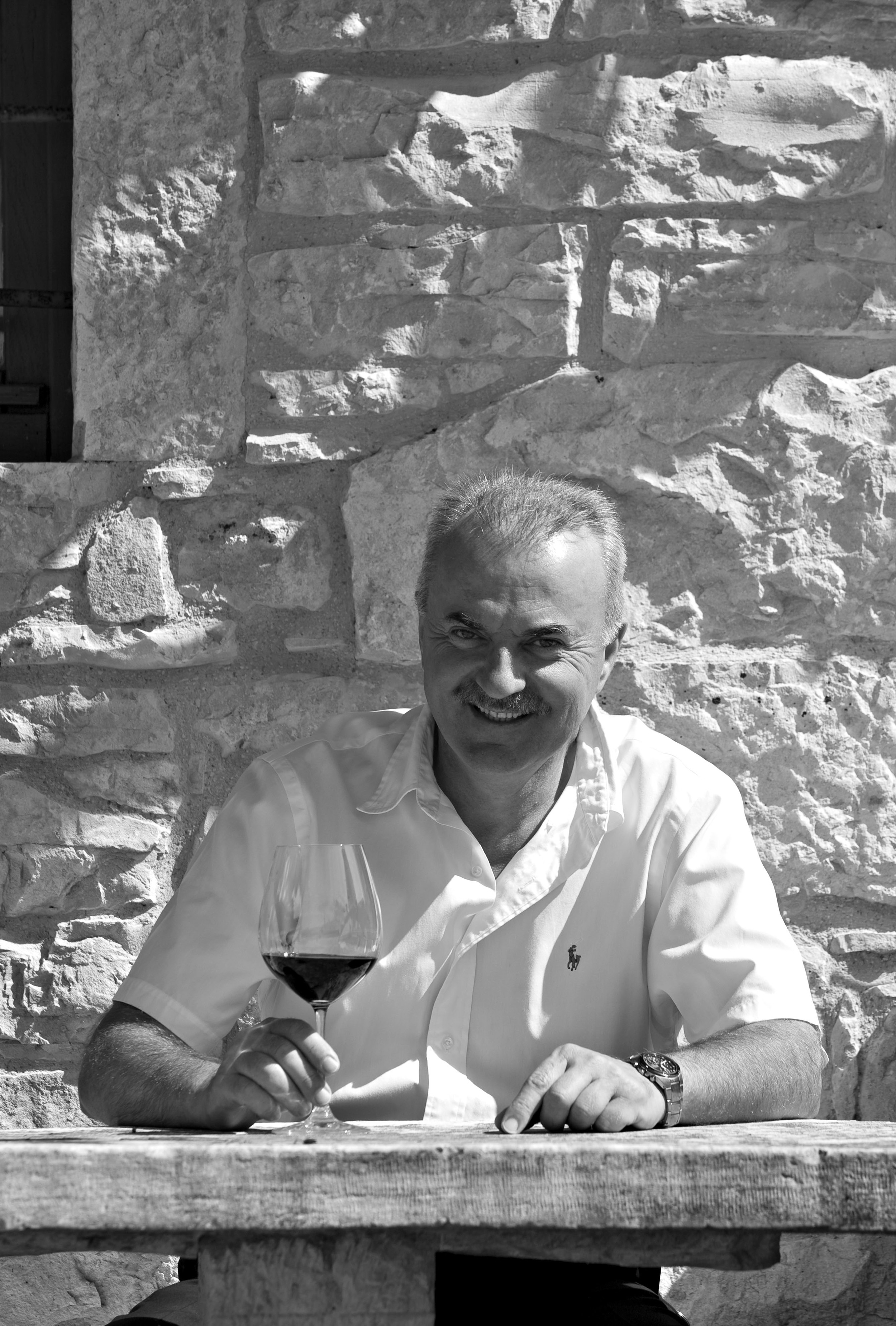 Marino Markežić used to make wine for his own restaurant; now he makes it for the international market