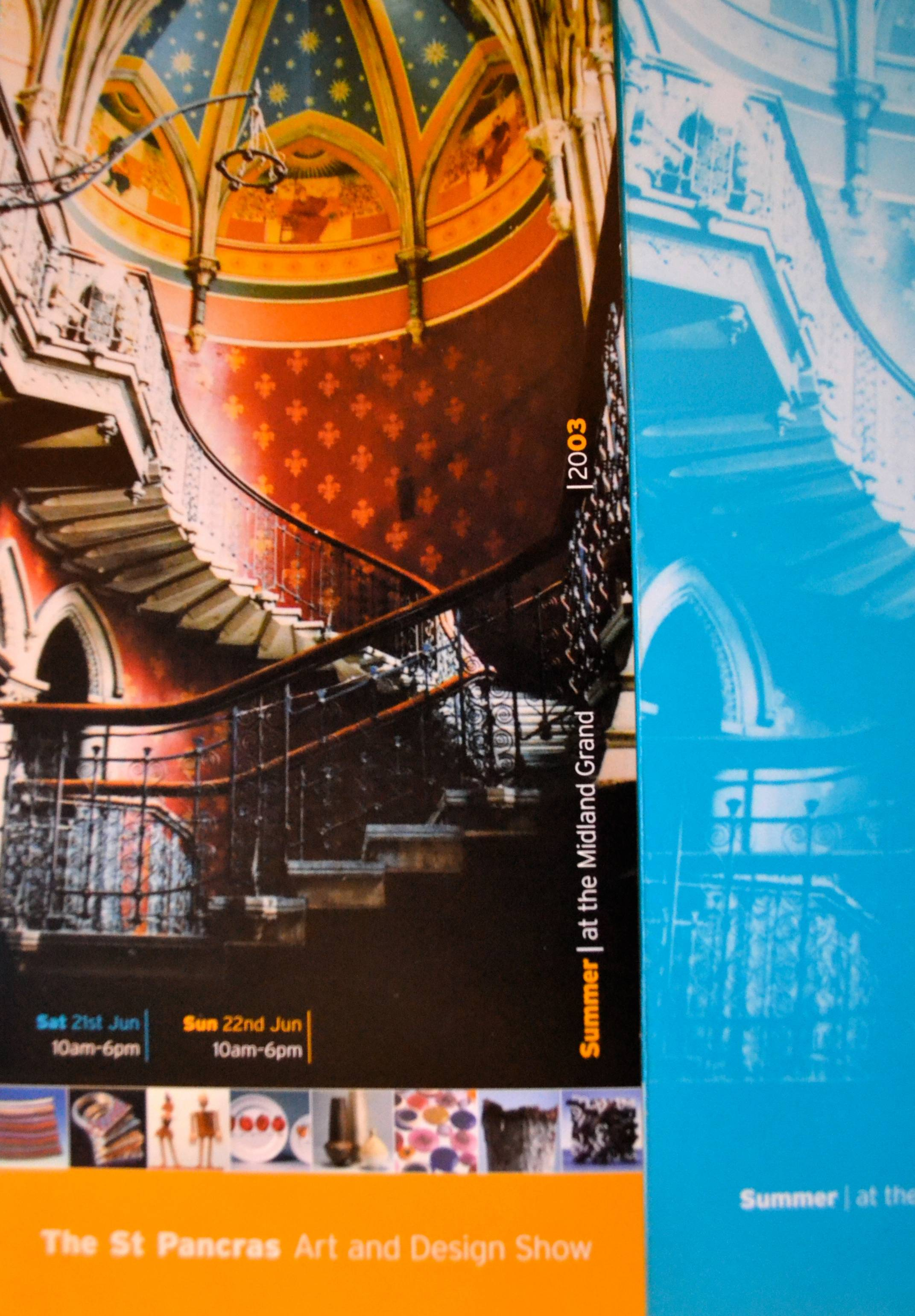 Exhibition 'The Midland Grand Summer Show' - St Pancras Chambers, London 2003