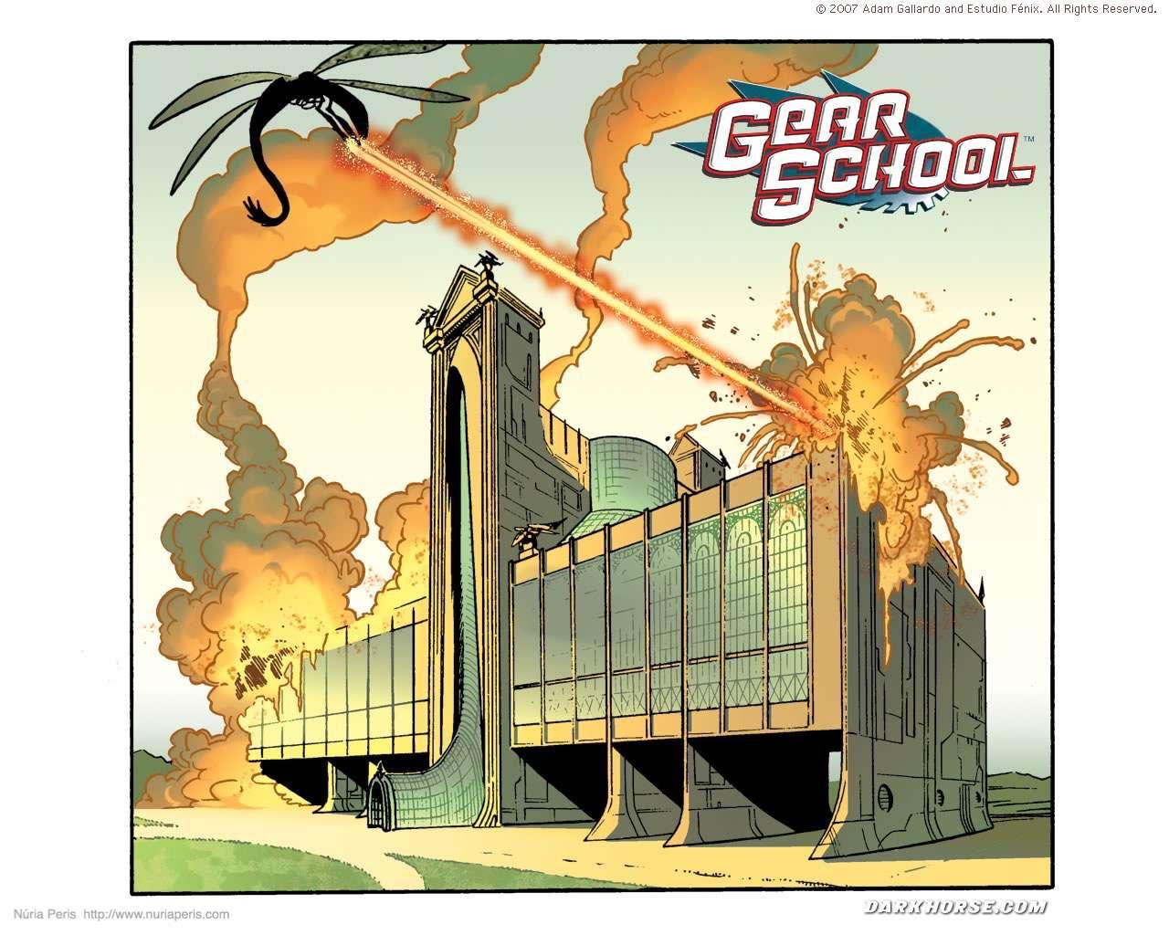 ©Dark Horse Comics, Inc. / Adam Gallardo / Estudio Fénix