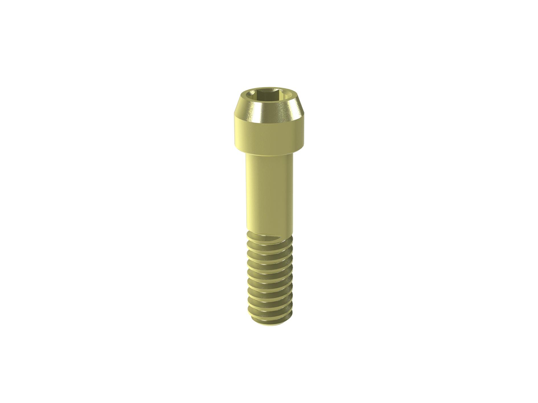 Laborschraube M 1,6 ( gelb )   Art.-Nr. 24.018.00.080  Plattform: 3,5 / 4,0  Preis  6€   ab 5 Stk.  4€   ab 10 Stk.  3,50€