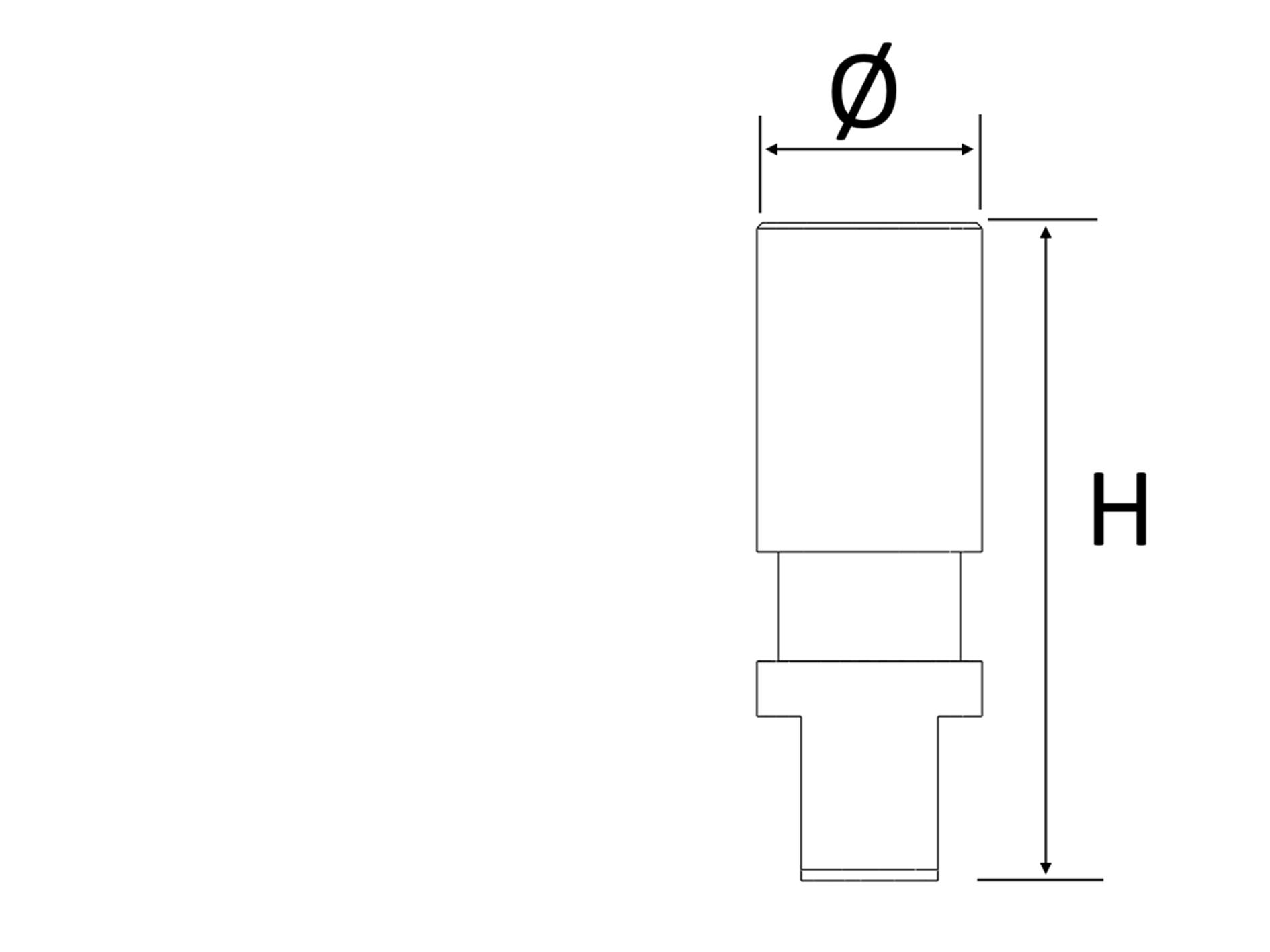 Laboranalog Heliocos kompatibel zu Straumann® - Bone Level®