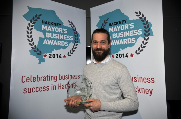 2014 People's Choice Award winner Remi Landez of 90 Main Yard