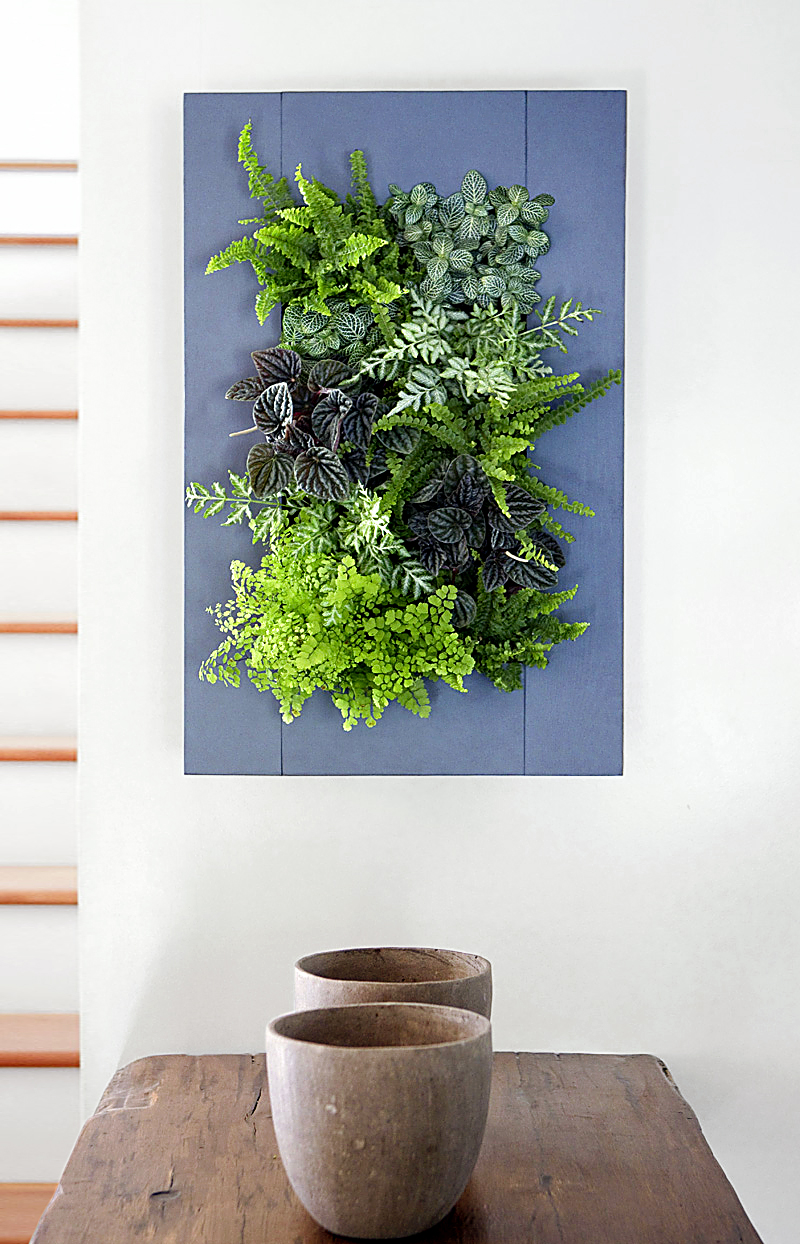 GroVert Living Wall Planter with Paintable Frame