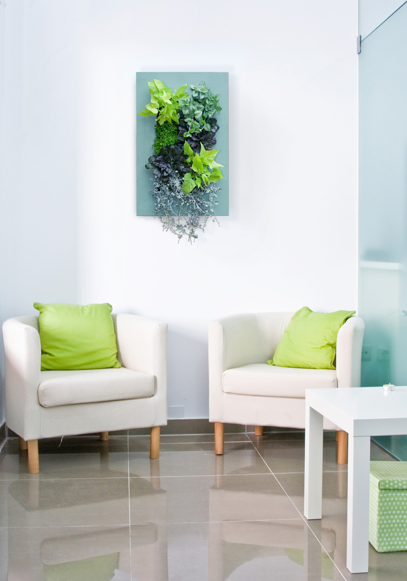 GroVert Living Wall with Paintable Frame