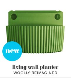 Woolly Living Wall Planter