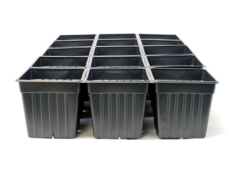 4 Quot Plastic Seed Starting Pots Sheet Of 15 Edible Walls