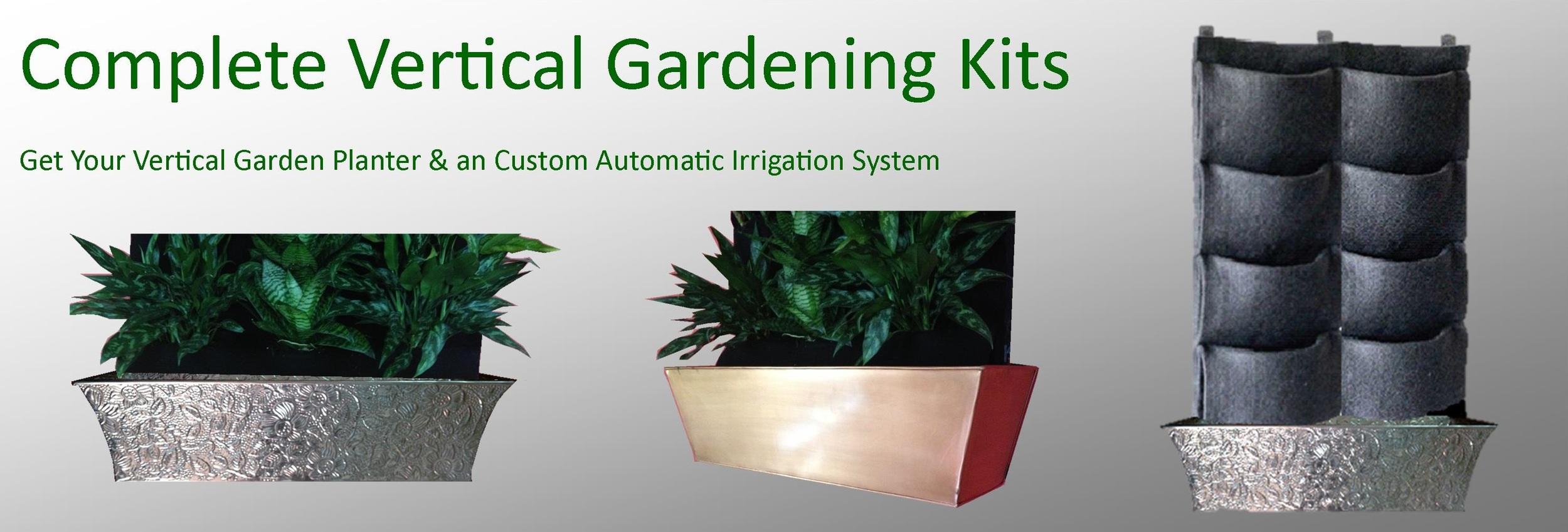 Vertical Gardening Kits
