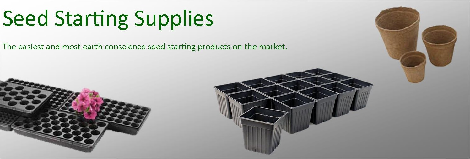Supplies to get your seeds going