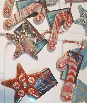 Resin Christmas Ornaments.Make Holiday Ornaments With Resin The Art Supply Depo Toledo
