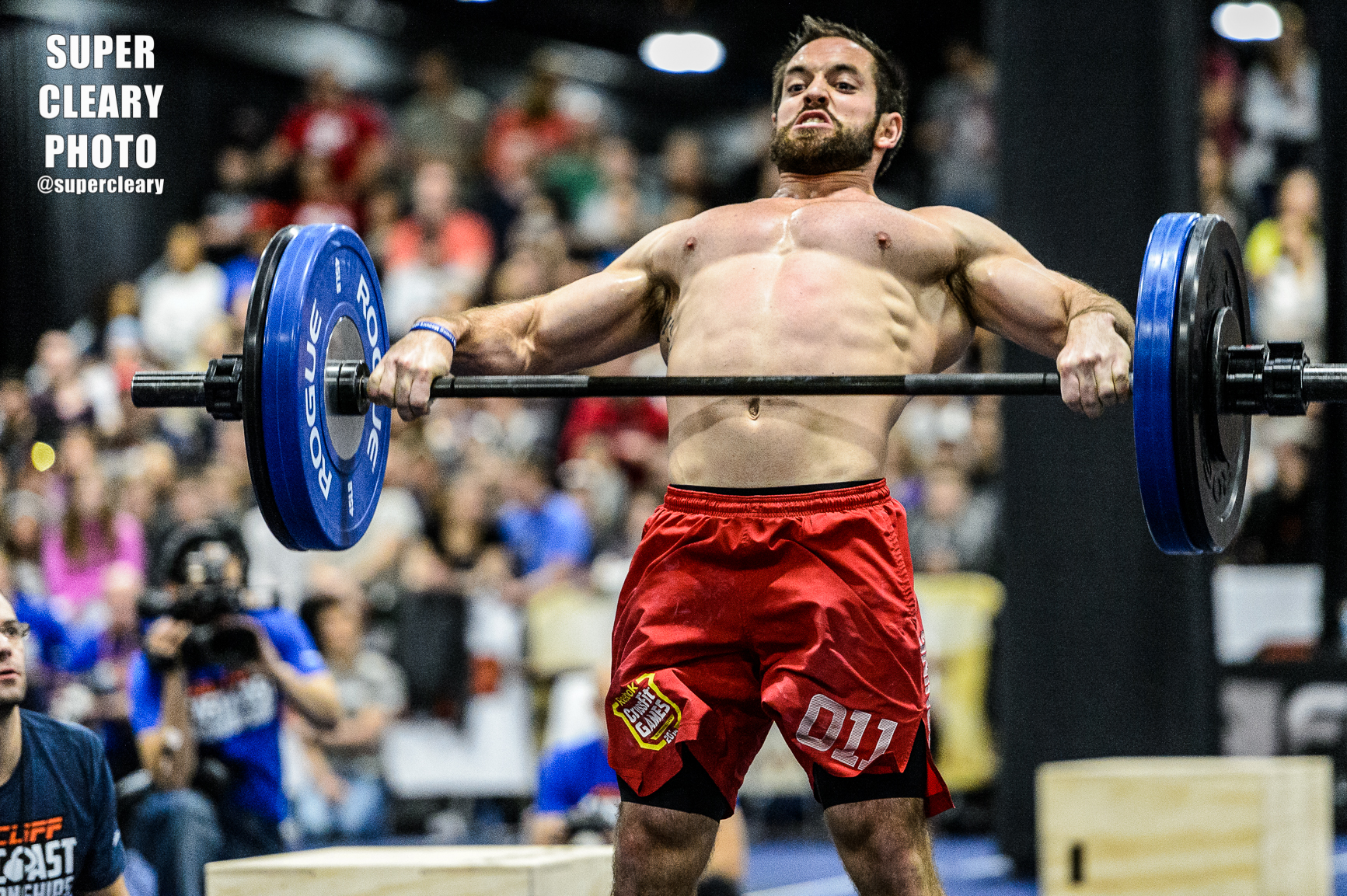 Rich Froning - Nikon D4, Sigma 120-300, 1/500th, F2.8, ISO 8000