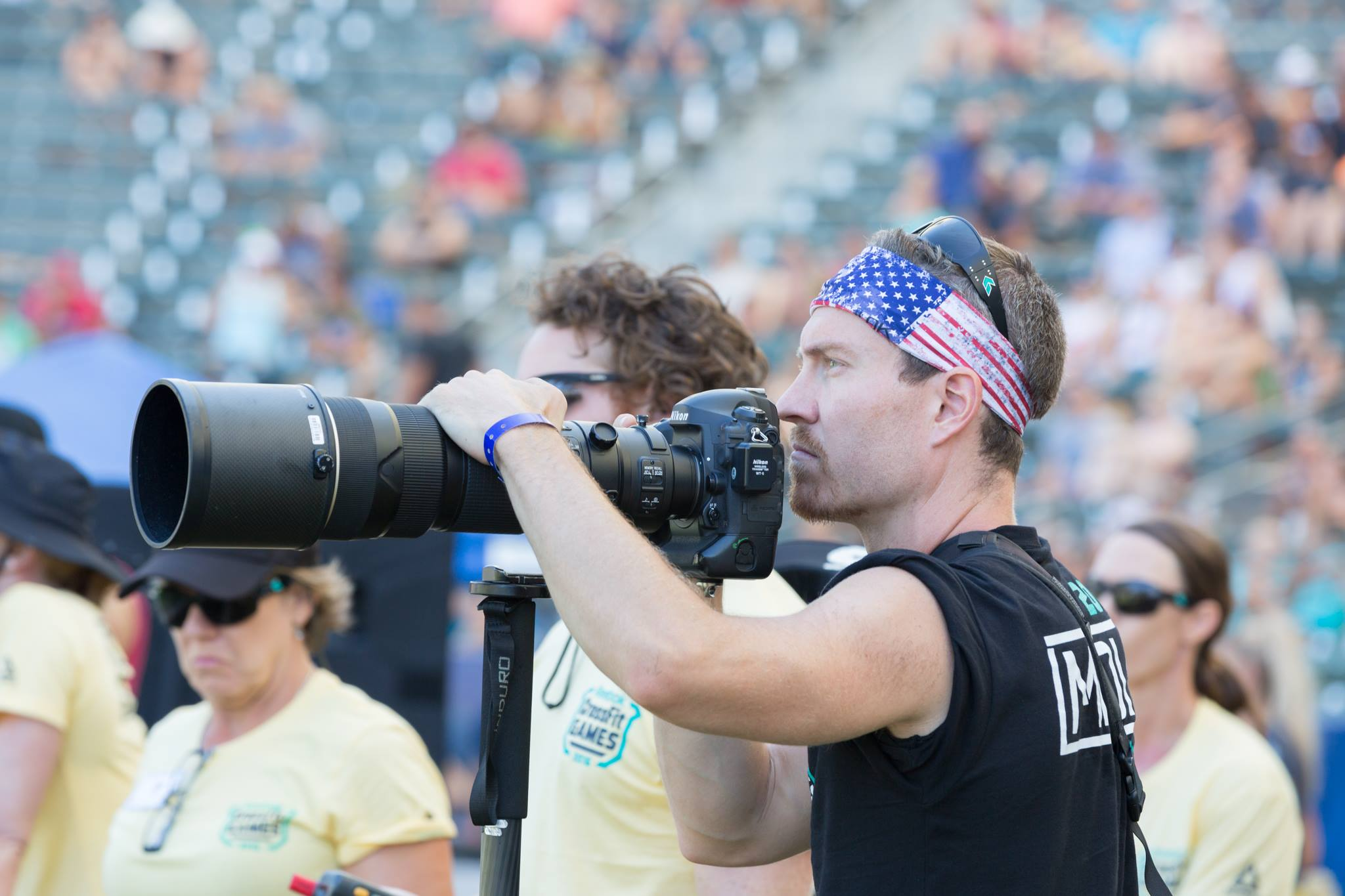 Pondering tacos with the Nikon 200-400.  Photo Cred CrossFit Inc, Colleen Baz