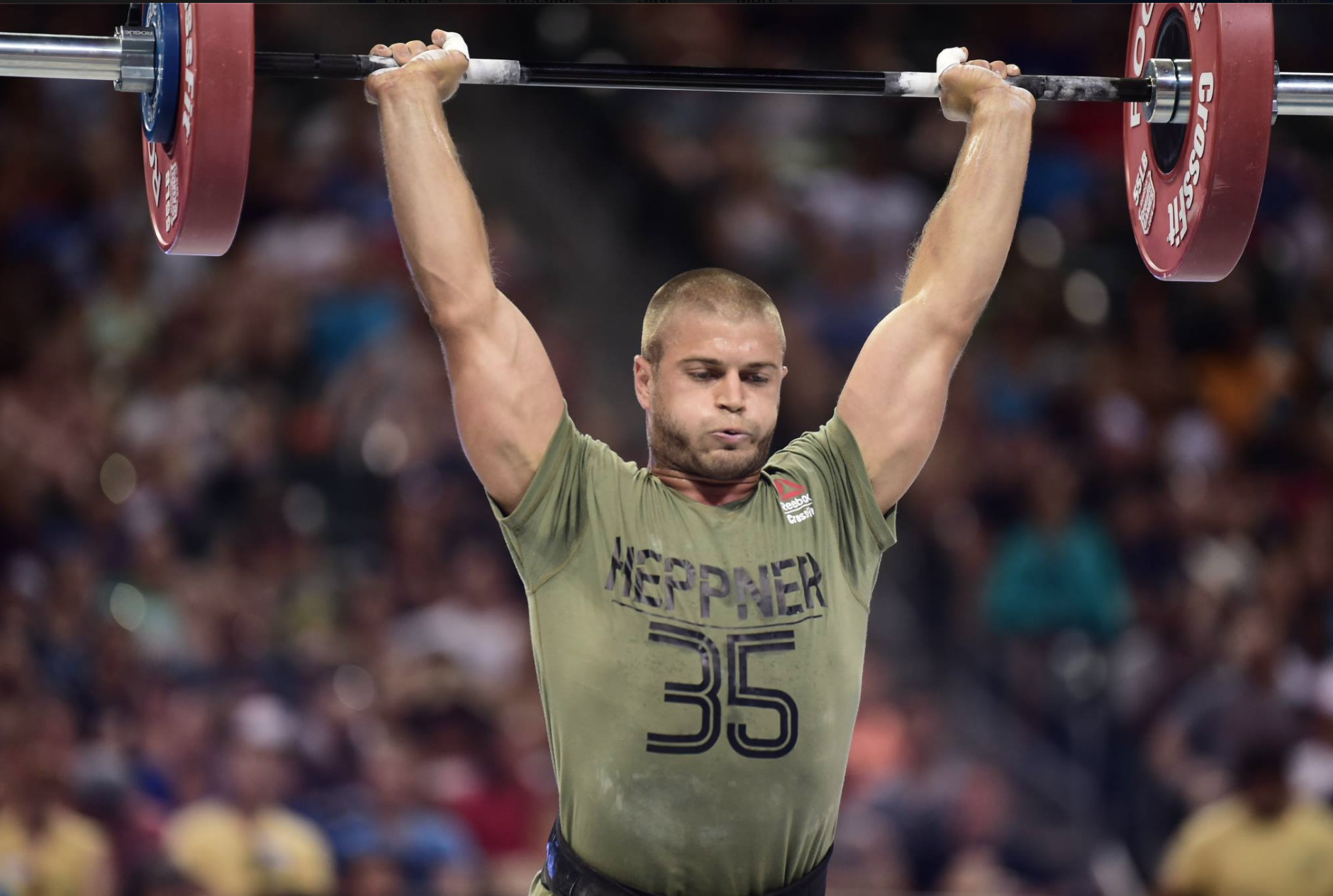 Jacob Heppner - 2016 CrossFit Games - Sigma 120-300 -Copyright CrossFit Inc, 2016, all rights reserved