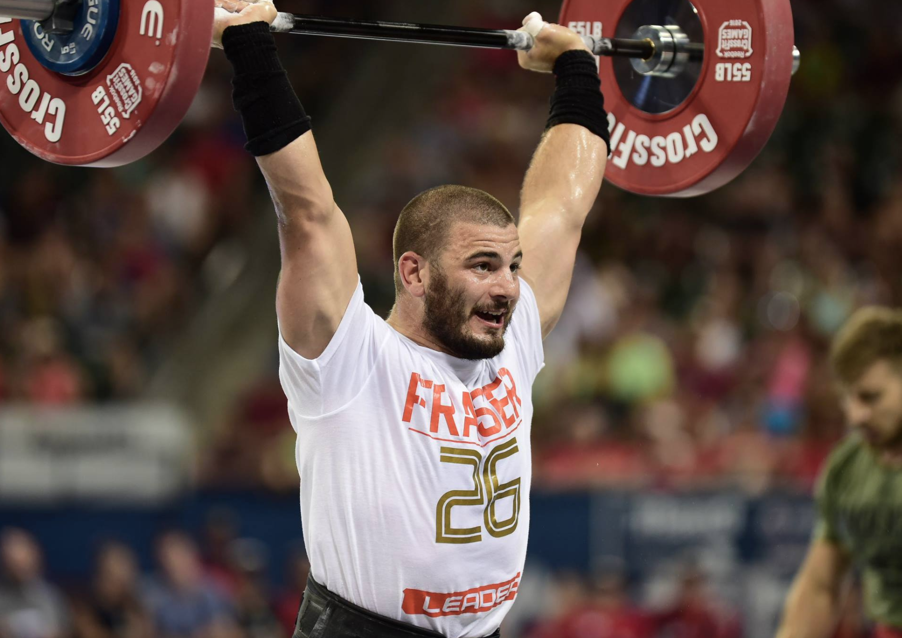 Mat Fraser - 2016 CrossFit Games - Sigma 120-300 -Copyright CrossFit Inc, 2016, all rights reserved