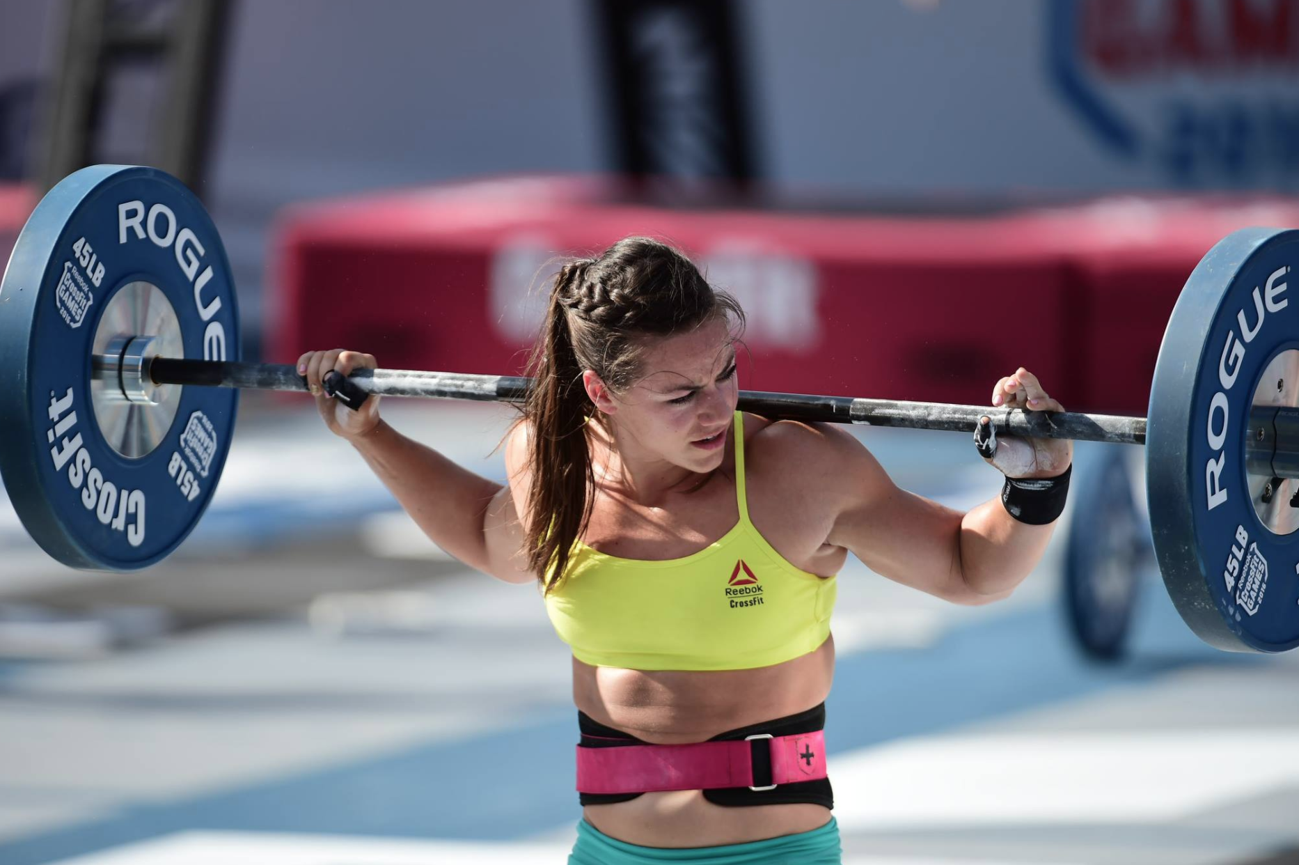 Camille Leblanc-Bazinet at the 2016 CrossFit Games - 200-400 f/4 - Copyright CrossFit Inc, 2016, all rights reserved