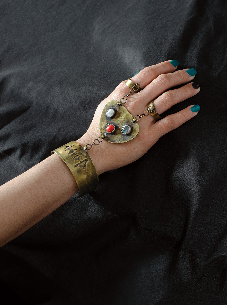 Soulcaster | Morganne Guier | Brass and Gemstones
